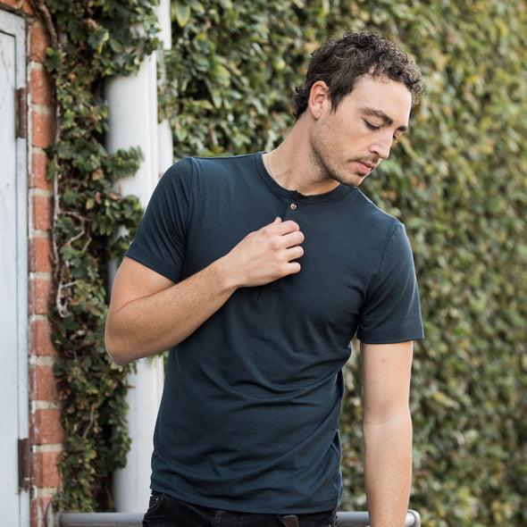 One-Bag Short Sleeve Henley