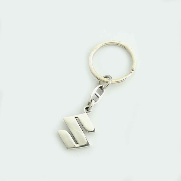 Sterling Silver Suzuki Key Chain