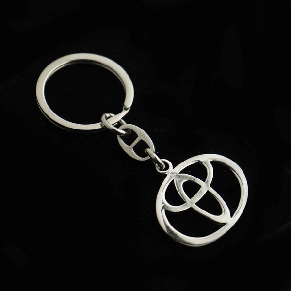 Sterling Silver Toyota Key Chain