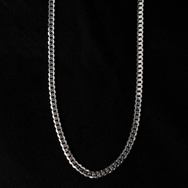 Sterling Silver Simple Unisez Chain