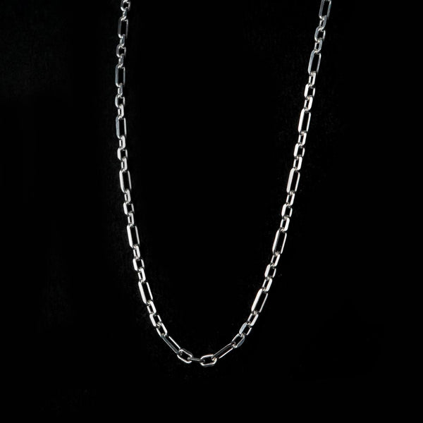 Silver Unisex Unique Chain