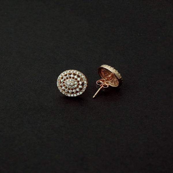 Sterling Silver Oval Studs