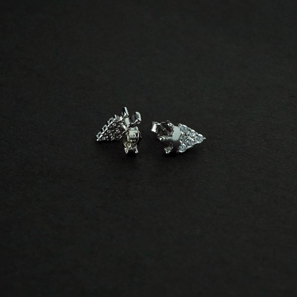 Sterling Silver King Stud