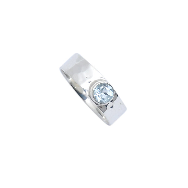 Sterling Silver Fancy CZ Ring