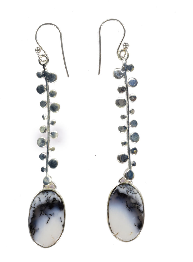 Sterling Silver Hanging Drop Earrings