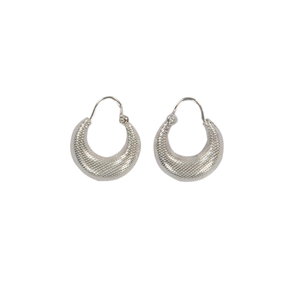 Silver Kaju Bali Earrings