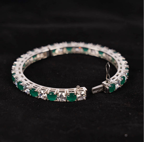 CZ Emerald Bangle