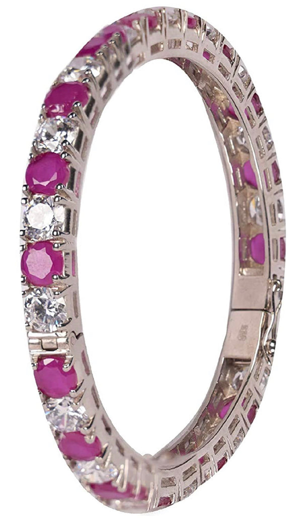 CZ Ruby Bangle