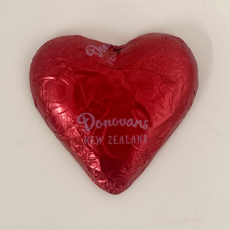 Donovan's Chocolate Heart - 25grams - Floral Affaire