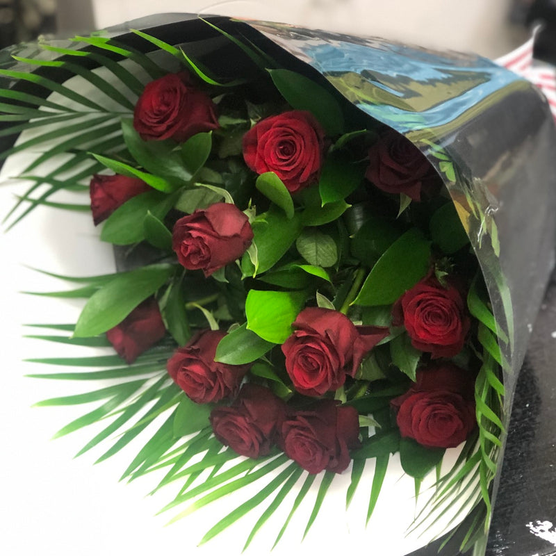 Dozen Red Roses - Floral Affaire