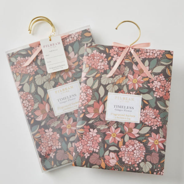 Scented Hanging Sachets - Ginger Flower - Floral Affaire