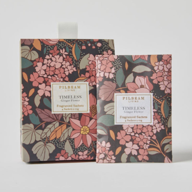 Scented Mini Sachets - Ginger Flower - Floral Affaire