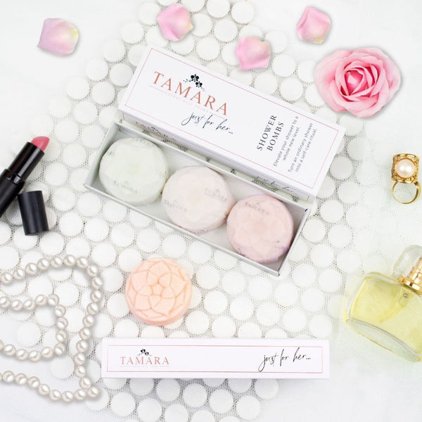 Essentially Tamara Shower Bombs - Just For Her Collection - Floral Affaire