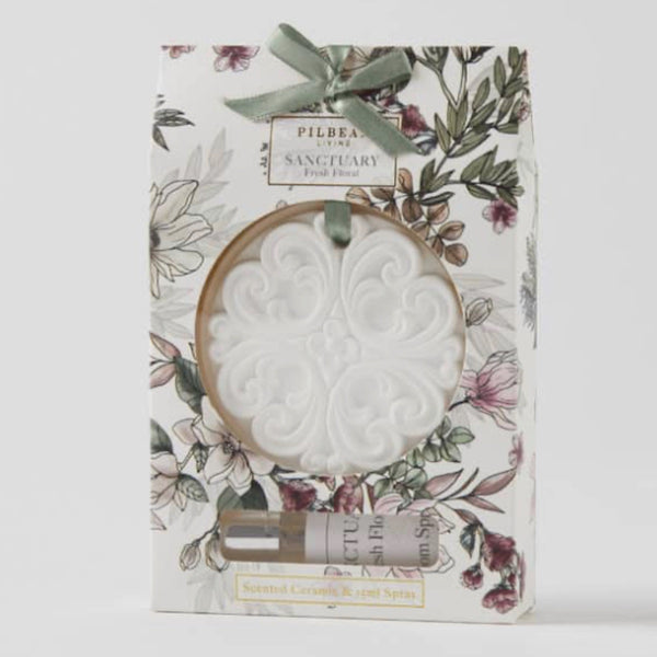 Scented Ceramic Disk - Fresh Floral - Floral Affaire