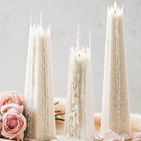 Icicle Candles - Floral Affaire