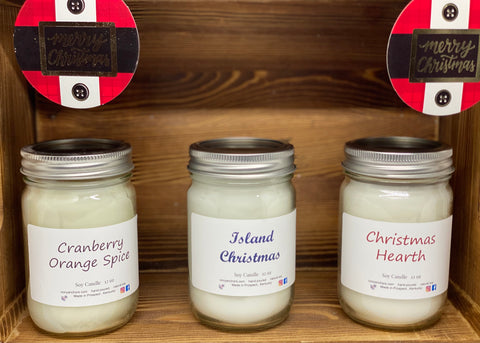 Soy Candles- Christmas - Ivory Anchors