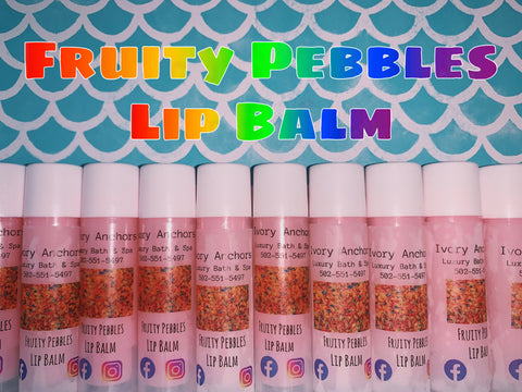 Lip Balm - Ivory Anchors