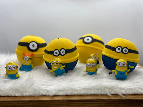 Minion Bath Bomb Toy - Ivory Anchors