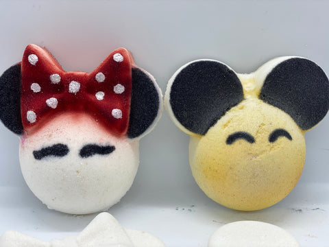 Minnie/Mickey Face - Ivory Anchors