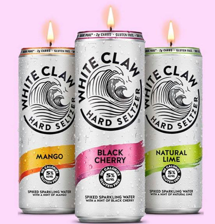 White Claw Candles - Ivory Anchors