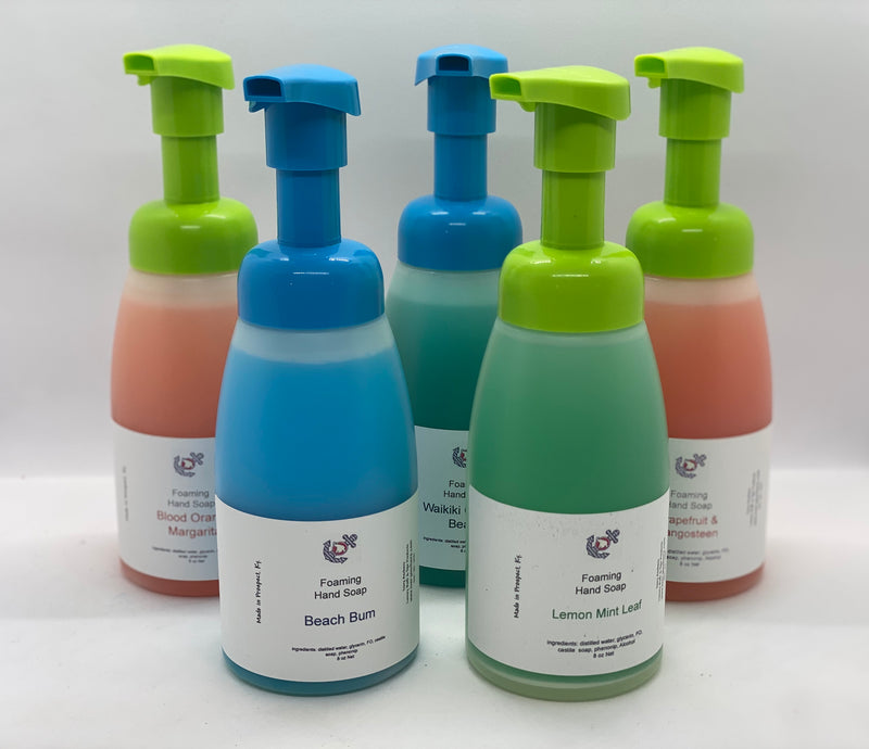 Antibacterial Foaming Hand Soap - Ivory Anchors