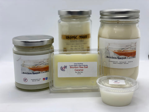 Soy Candles- Fall Scents - Ivory Anchors