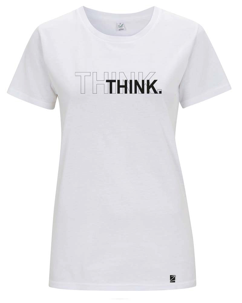shirt | think | white