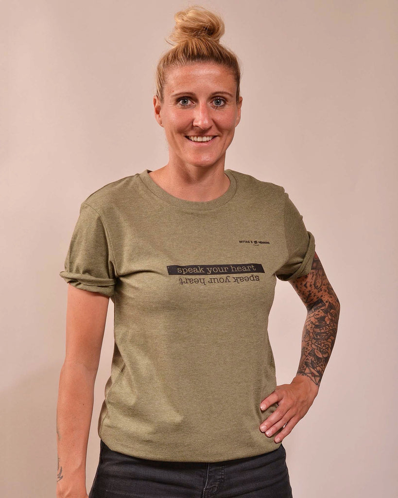 SHIRT | MITTAGS BEI HENNING | KHAKI