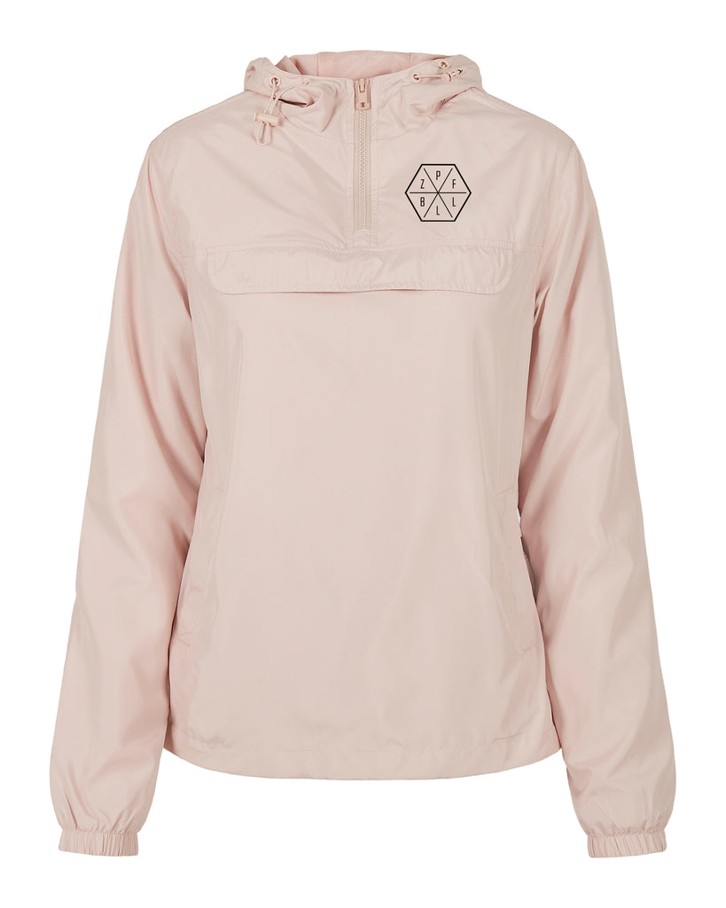 pull over jacket | 3x3 | light pink