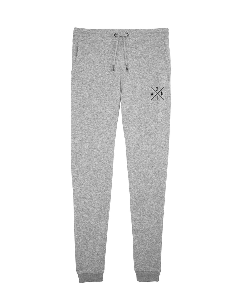 SWEATPANTS | AM31 | ANJA MITTAG | LIGHT GREY
