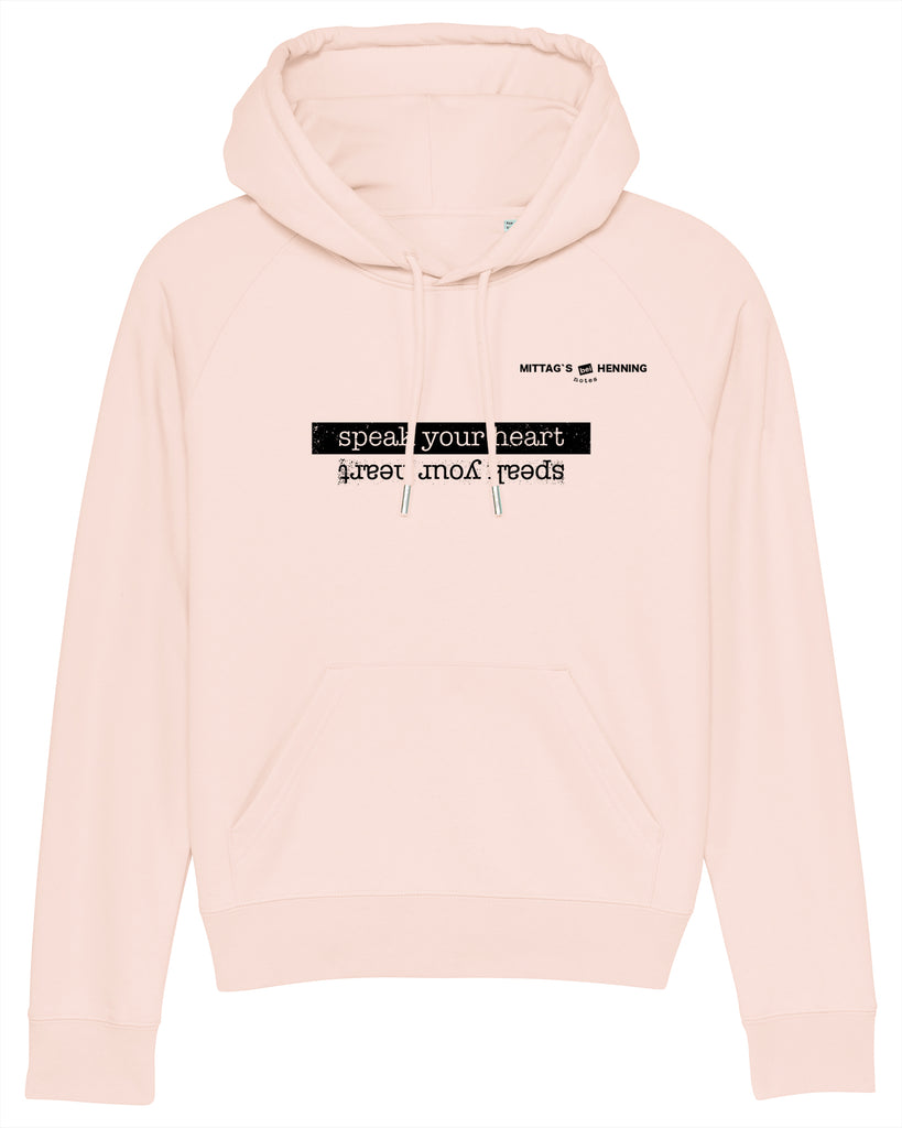 HOODIE | MITTAGS BEI HENNING | LIGHT PINK