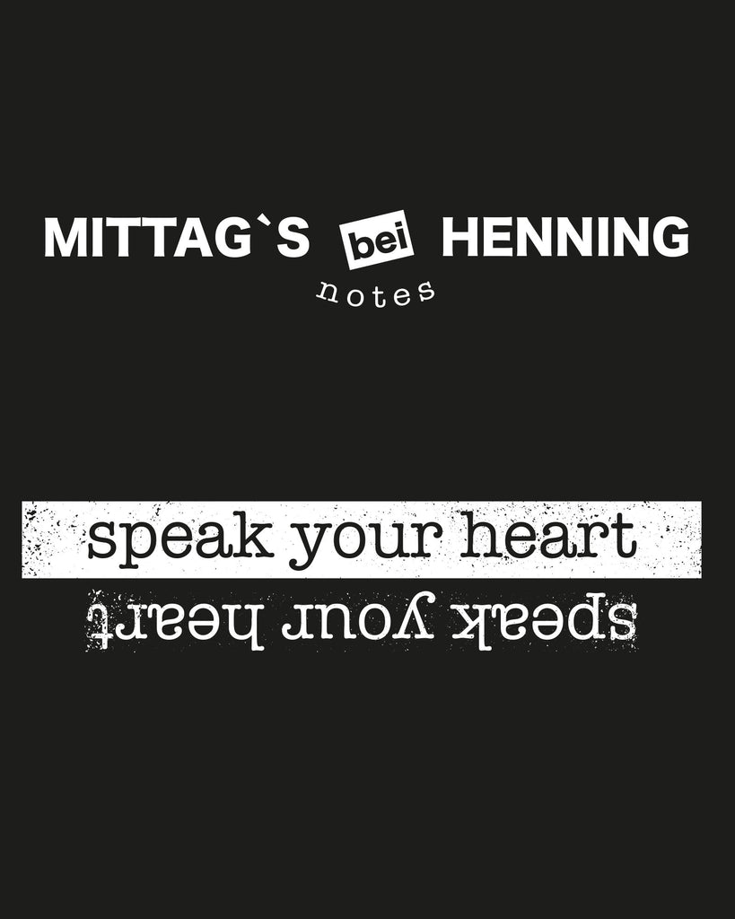 SHIRT | MITTAGS BEI HENNING | BLACK