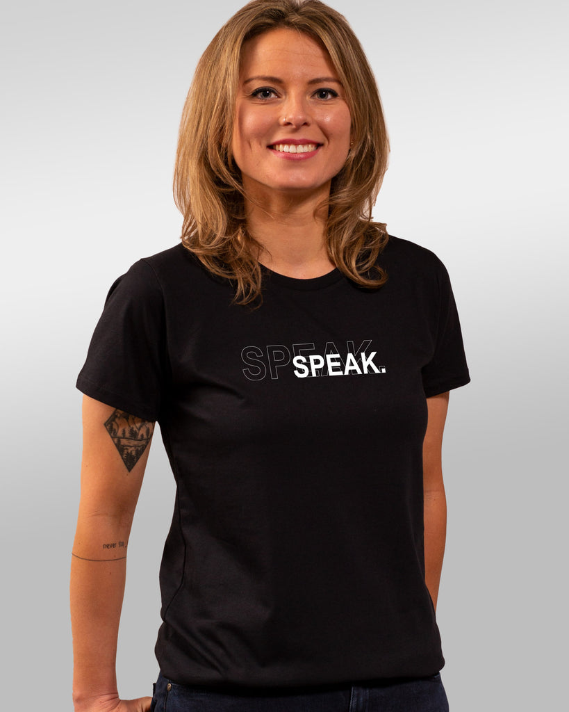 shirt | speak | black