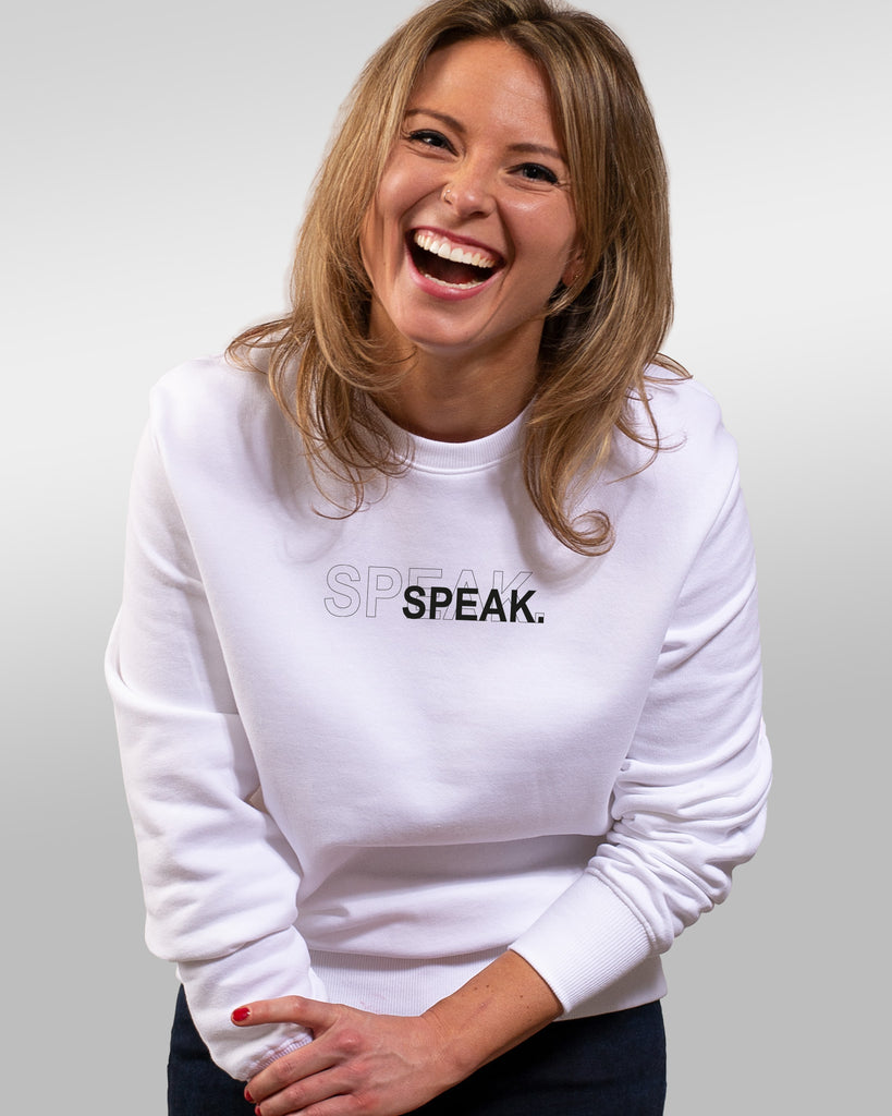 sweatie | speak | white