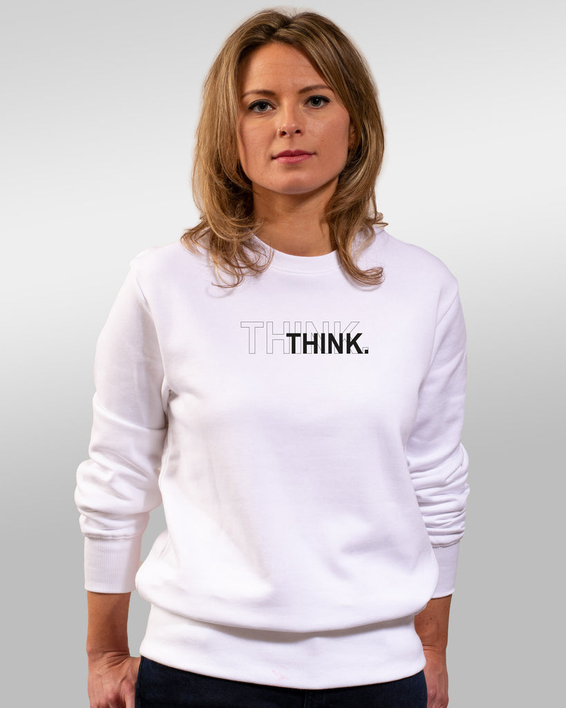 sweatie | think | white