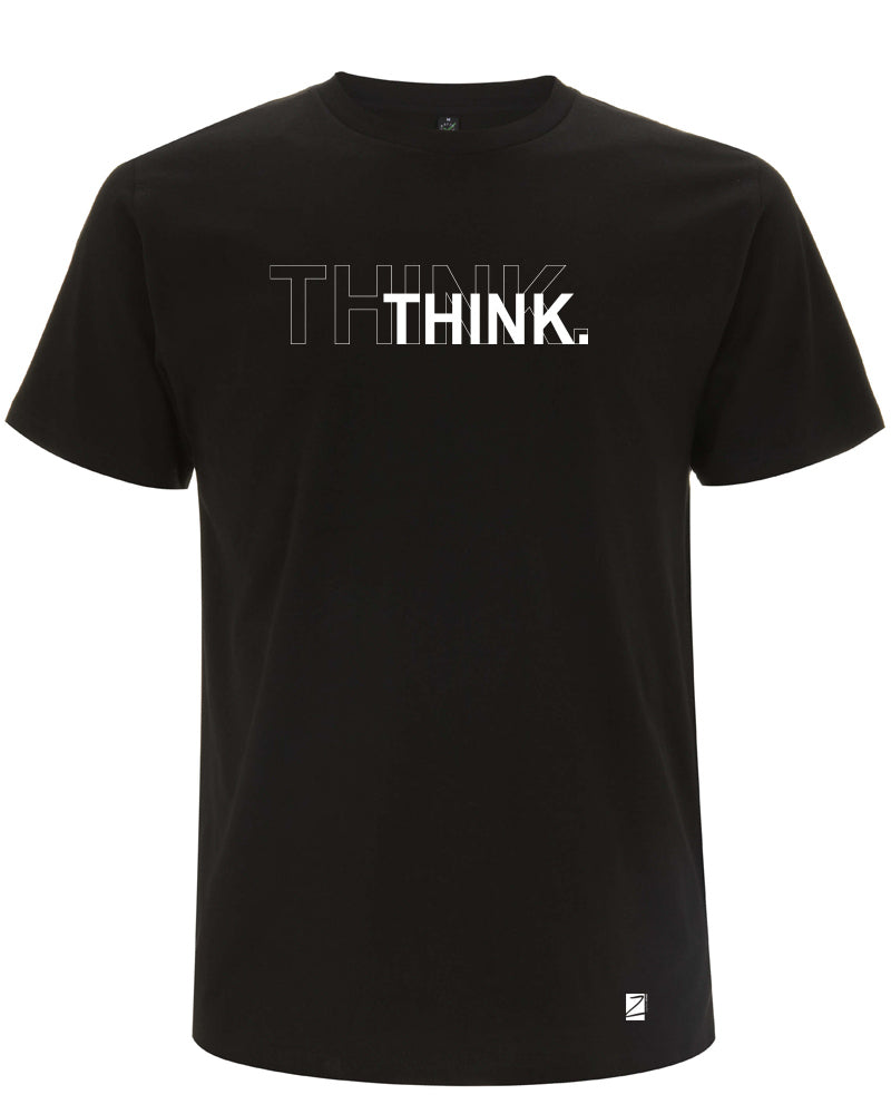 shirt | think | black