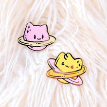 Load image into Gallery viewer, Jupicat—Meowky Way—Space Cat Planet Enamel Pin