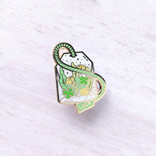 Load image into Gallery viewer, Lucky Brew—Lady Luck Tea Enamel Pin