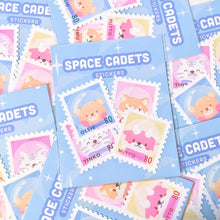 Load image into Gallery viewer, Space Cadet Stamps Weatherproof Stickers