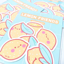 Load image into Gallery viewer, Lemon Friends Weatherproof Stickers