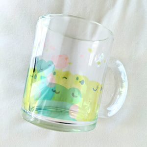 Unfrogettable Friends - 10oz Glass Mug