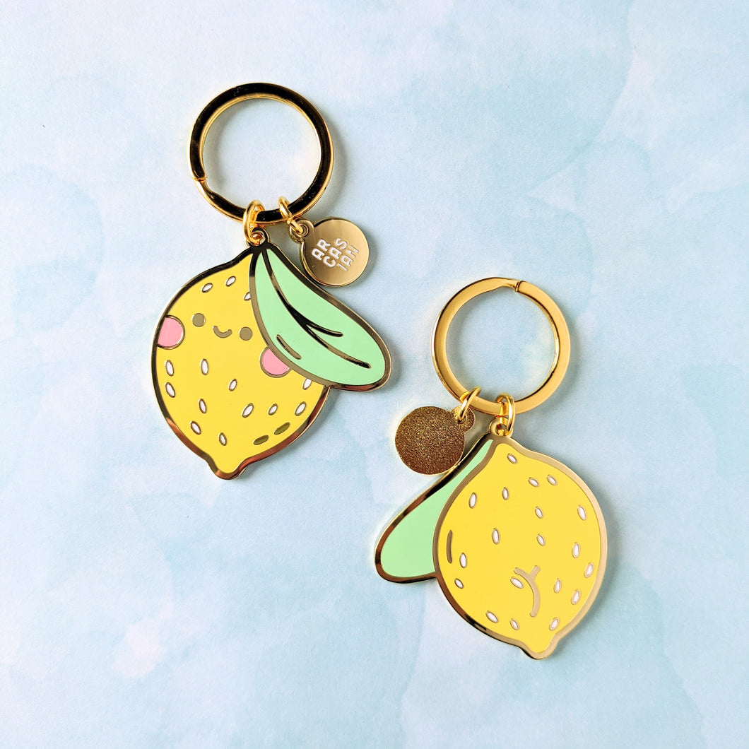 Lemon Friend Keychain