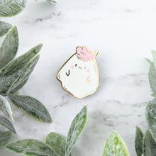 Load image into Gallery viewer, Albio the Forest Ghost Enamel Pin