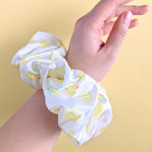 Load image into Gallery viewer, Lemon Friends Oversized Scrunchie