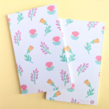 Load image into Gallery viewer, Flower Friends Pattern Notebook