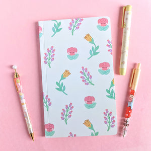 Flower Friends Pattern Notebook