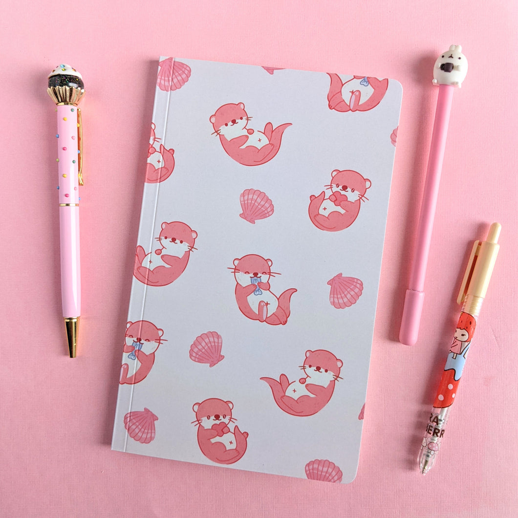 Significant Otter Pattern Notebook