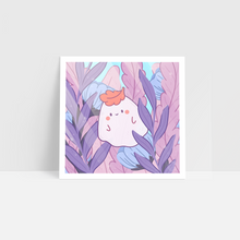 Load image into Gallery viewer, Albio the Forest Ghost Art Print
