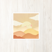 Load image into Gallery viewer, Rolling Sun Art Print