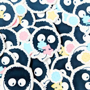 Candy Soot Sprites Weatherproof Stickers